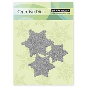 Penny Black SNOWFLAKE TRIO Thin Metal Creative Dies 51-015 Preview Image