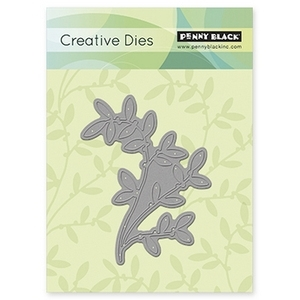 Penny Black DANCING LEAVES Thin Metal Creative Dies 51-016