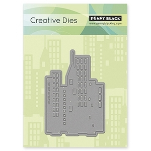 Penny Black DOWNTOWN Thin Metal Creative Dies 51-017