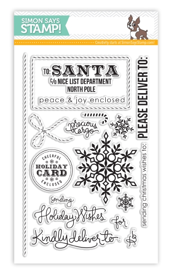 SSS Holiday Envelope Sentiments Stamps