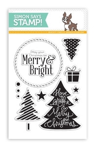 Simon Says Clear Stamps MERRY TREES SSS101354 Preview Image