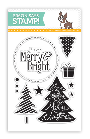 Simon Says Clear Stamps MERRY TREES SSS101354 zoom image