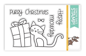 Simon Says Clear Stamps HAPPY MEOWDAY SSS101357 *