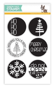 Simon Says Clear Stamps CIRCLES FOR THE HOLIDAYS SSS101361 zoom image