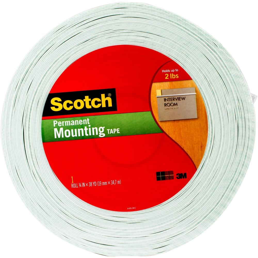 3M Scotch DOUBLE-SIDED FOAM TAPE Permanent