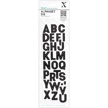 DoCrafts HEADLINER ALPHABET XCut Dies Set 503153