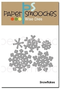 Paper Smooches SNOWFLAKES Wise Dies Kim Hughes Preview Image