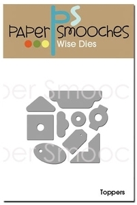Paper Smooches TOPPERS Wise Dies Kim Hughes* zoom image