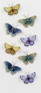 Little B BUTTERFLIES Mini Stickers 100137