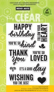 Hero Arts Clear Stamps YOU'RE SO KIND cl748 *