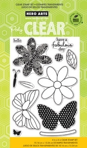 Hero Arts Clear Stamps BUTTERFLY cl750