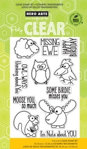 Hero Arts Clear Stamps MISSING YOU cl756 OWH