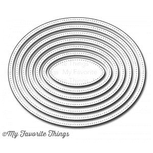 My Favorite Things PIERCED OVAL STAX Die-Namics MFT Preview Image