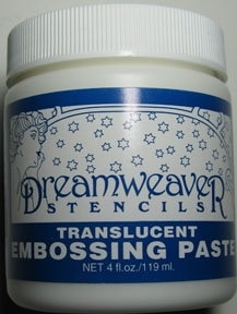 Dreamweater Translucent Embossing Paste