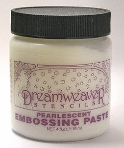 Dreamweaver PEARLESCENT Embossing Paste 4oz DWDPP