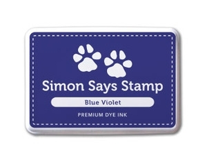 Simon Says Stamp Premium Dye Ink Pad BLUE VIOLET ink013 Preview Image
