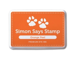 Simon Says Stamp Premium Dye Ink Pad ORANGE PEEL ink005