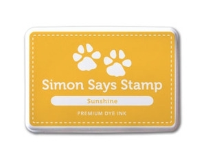 Simon Says Stamp Premium Dye Ink Pad SUNSHINE ink009 zoom image
