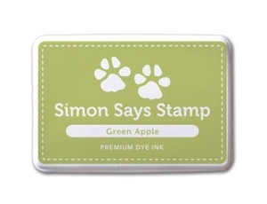 Simon Says Stamp Premium Dye Ink Pad GREEN APPLE