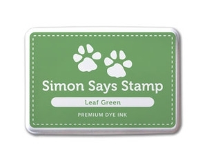 Simon Says Stamp Premium Dye Ink Pad GREEN LEAF  ink011 Preview Image