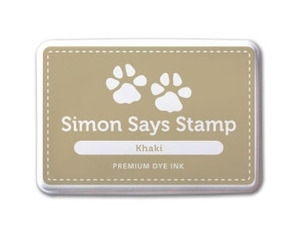 Simon Says Stamp Premium Dye Ink Pad KHAKI ink014 zoom image