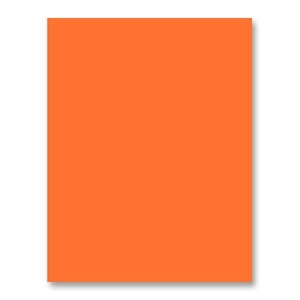 Simon Says Stamp Card Stock 100# ORANGE PEEL OP5 Preview Image