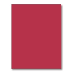 Simon's Exclusive Schoolhouse Red Card Stock
