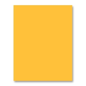 Simon's Exclusive Sunshine Yellow Card Stock