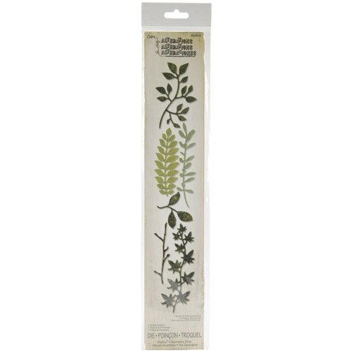 Tim Holtz Sizzix Die SPRING GREENERY Decorative Strip 659573 Preview Image