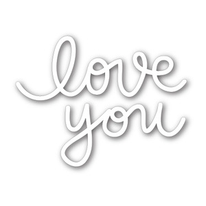 Simon Says Stamp BIG LOVE YOU Craft DIE SSSD111323