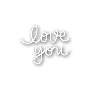 Simon Says Stamp SMALL LOVE YOU Craft Dies SSSD111324