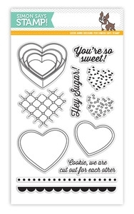 Simon Says Clear Stamps HEY SUGAR SSS101377 *