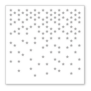 Simon Says Stamp Stencil FALLING STARS SSST121332 Preview Image