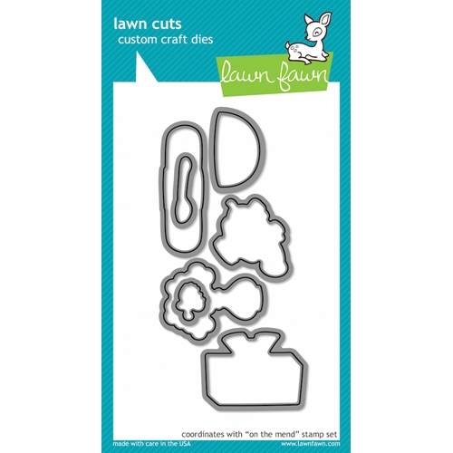 Lawn Fawn ON THE MEND Lawn Cuts Dies LF592 Preview Image