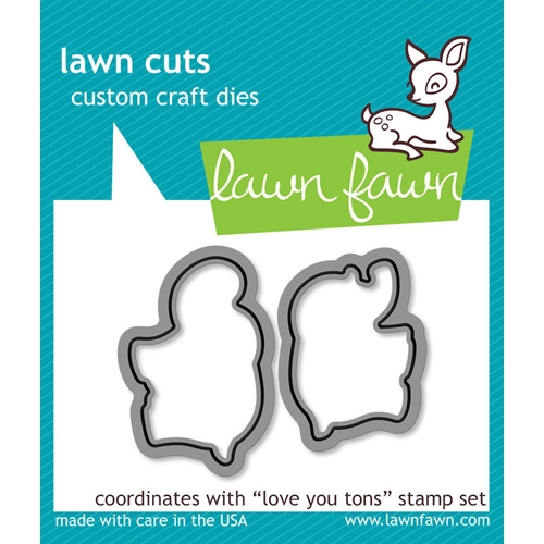 Lawn Fawn LOVE YOU TONS Lawn Cuts Dies LF600 Preview Image