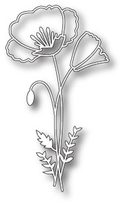 Memory Box PERKY POPPY Craft DIE 98762 Preview Image