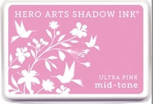 Hero Arts Shadow Ink Pad ULTRA PINK Mid-Tone AF263  zoom image