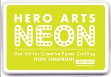 Hero Arts Dye Ink Pad NEON CHARTREUSE AF267  Preview Image