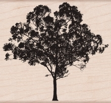 Hero Arts TREE FOR LIFE Rubber Stamp K5910