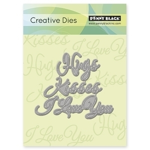 Penny Black LOVE EXPRESSIONS Thin Metal Creative Dies 51-025