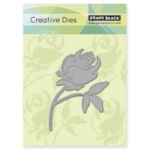Penny Black ROSE Thin Metal Creative Dies 51-023 Preview Image