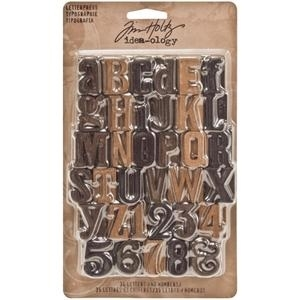 Tim Holtz Idea-ology LETTERPRESS TH93130 Preview Image