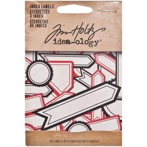 Tim Holtz Idea-ology INDEX LABELS TH93122 zoom image