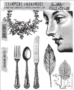 Tim Holtz Cling Rubber Stamps DAYDREAM cms179 Preview Image
