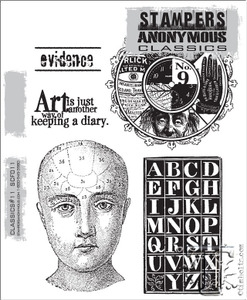 Stampers Anonymous Cling Rubber Stamps CLASSICS #11 SCF011 Preview Image