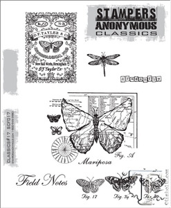 Stampers Anonymous Cling Rubber Stamps CLASSICS #17 SCF017