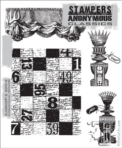 Stampers Anonymous Cling Rubber Stamps CLASSICS #18 SCF018 zoom image