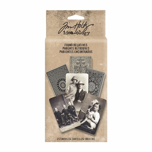 Tim Holtz Idea-ology FOUND RELATIVES Portraits TH93121 Preview Image