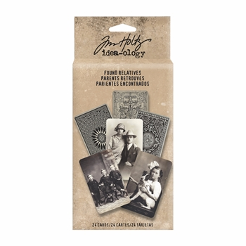 Tim Holtz Idea-ology FOUND RELATIVES Portraits TH93121