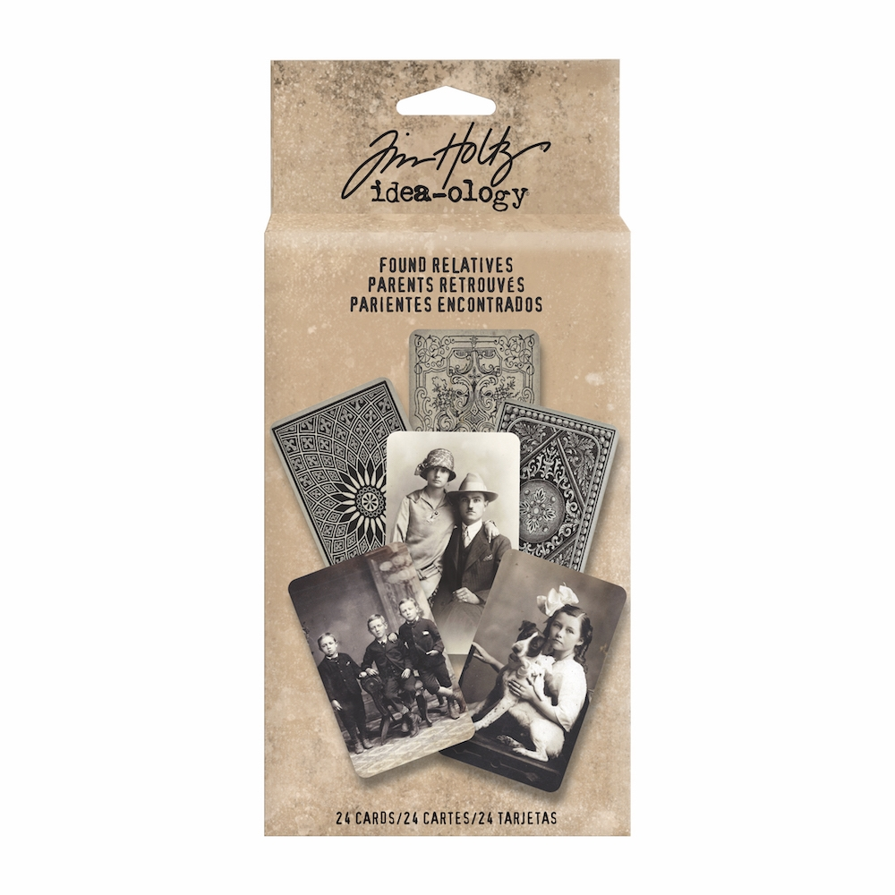 Tim Holtz Idea-ology FOUND RELATIVES Portraits TH93121 zoom image